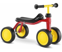 Puky Pukylino oefenfiets met 4 wielen rood 1+