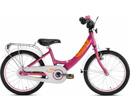 """Puky Puky 18"""" kinderfiets Alu paars Berry Edition 4+"""
