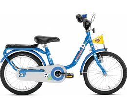 "Puky Puky 16"" kinderfiets Z6 blauw voetbal 3+ NEW"