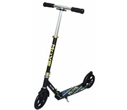 Move Move Deluxe Scooter 200 kinderstep 200mm Black/Green 6+