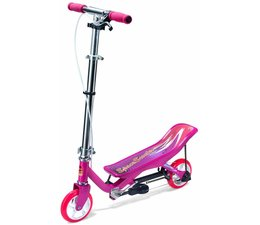 Space Scooter Space Scooter Junior x360 kinderstep Roze 4+