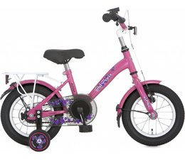 "Alpina kinderfietsen Alpina Girl Power 12"" meisjesfiets Candy Pink 3+"