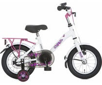"Alpina kinderfietsen Alpina Girl Power 12"" meisjesfiets White 3+"