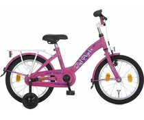 "Alpina kinderfietsen Alpina Girl Power 18"" meisjesfiets Candy Pink 5+"