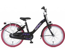"Alpina kinderfietsen Alpina Girl Power 20"" meisjesfiets Black 6+"