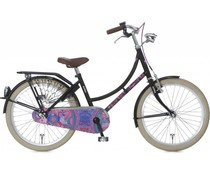 "Alpina kinderfietsen Alpina Tingle Meisjesfiets 22"" Black 6+"
