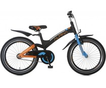 "Alpina kinderfietsen Alpina Brave kinderfiets 20"" Black Matt 6+"