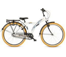 """Sparta Sparta Young Streetwise jongensfiets 26"""" Wit Mat 10+"""