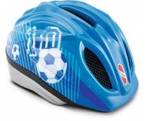 Puky Puky fietshelm medium-large blauw voetbal 52-58 cm.