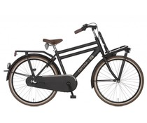 "Cortina Cortina U4 Transport Mini jongensfiets 24"" 3-speed Jet Black Matt 8+"