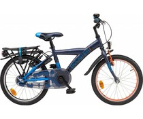 "Loekie kinderfietsen Loekie Booster 18"" jongensfiets Dark Blue Mat 5+"