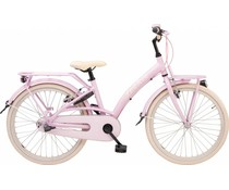 "Loekie kinderfietsen Loekie Prinses meisjesfiets 22"" 3 speed Pink 6+"