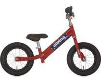 Alpina kinderfietsen Alpina Rider Loopfiets Dark Red 2,5+