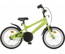 "Alpina kinderfietsen Alpina Comet jongensfiets 16"" Apple Green 4+"