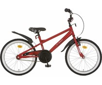 "Alpina kinderfietsen Alpina Comet jongensfiets 20"" Dark Red 6+"