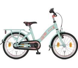 "Alpina kinderfietsen Alpina Girlpower 18"" meisjesfiets Leaf Green 5+"