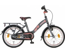"Alpina kinderfietsen Alpina Girlpower 18"" meisjesfiets Rock Grey 5+"