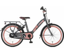 "Alpina kinderfietsen Alpina Girlpower 22"" Meisjesfiets Rock Grey  6+"