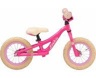 "Loekie kinderfietsen Loekie Princess Loopfiets 12"" Pink Matte 2,5+"