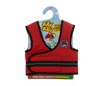BikyBiky vest met handvat voor fietsles - Rood