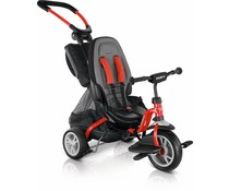 Puky Puky Carry-Touring-Kipper Ceety stadsdriewieler rood 2+
