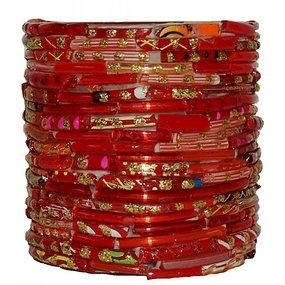 Waxinelichthouder red