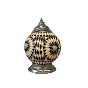 Tafellamp zwart wit