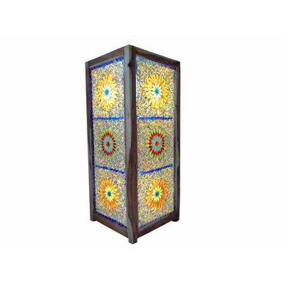 Staande lamp mozaïek multi colour kraal