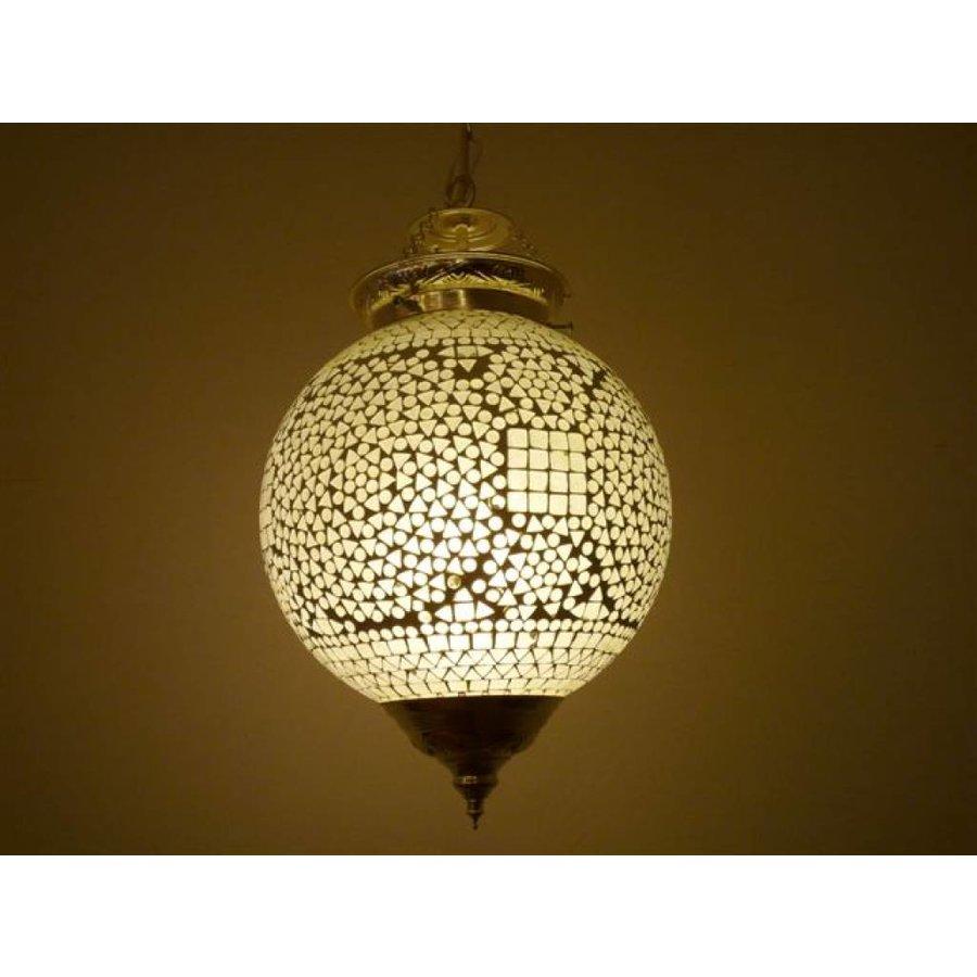 Hanglamp mozaïek transparant traditioneel design
