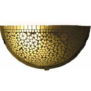 Mozaïek wandlamp transparant traditioneel design