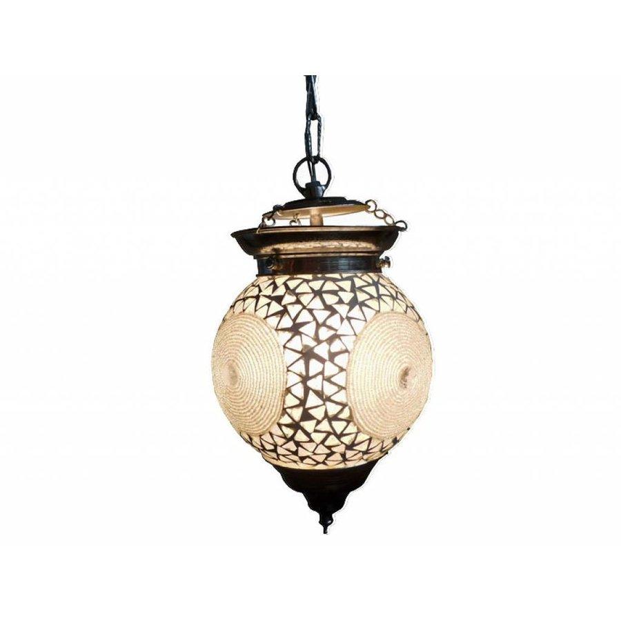 Hanglamp mozaïek transparant bangles design