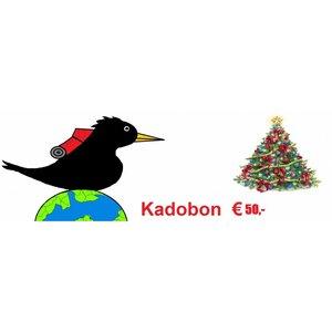 Kadobon 50,-