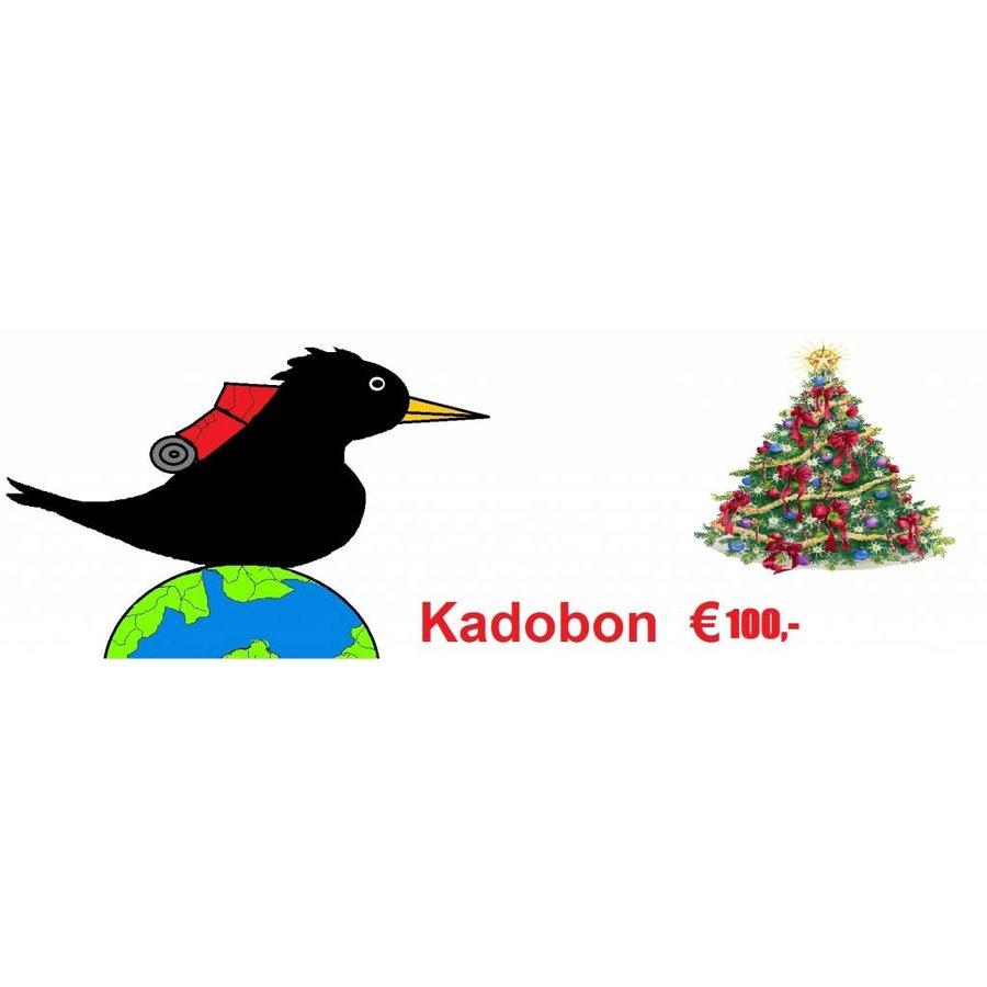Kadobon 100,-