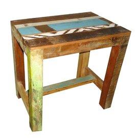 tafeltje/kruk sloophout