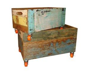Houten kist tuinkussens: tuinkussenbox op maat ideale opbergbox voor