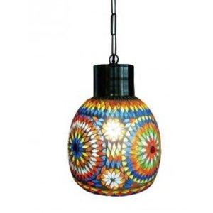 Hanglamp mozaïek multi