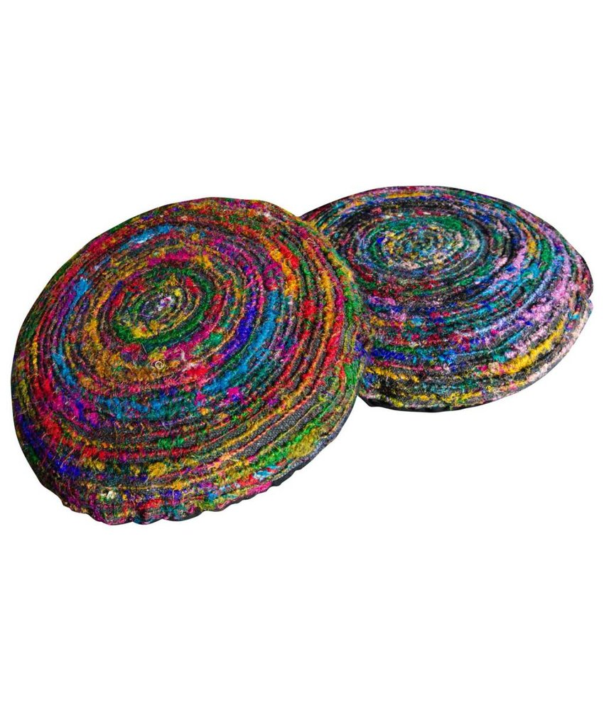 Patchwork kussens kleurrijke matraskussen en sierkussens for Lang rond kussen