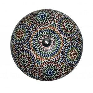 Plafonniere mozaïek multicolour turkish design
