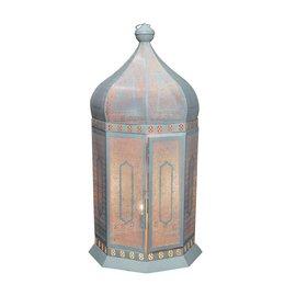 Marokkaanse vloerlamp wit