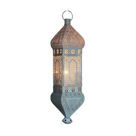 Witte arabische hanglamp