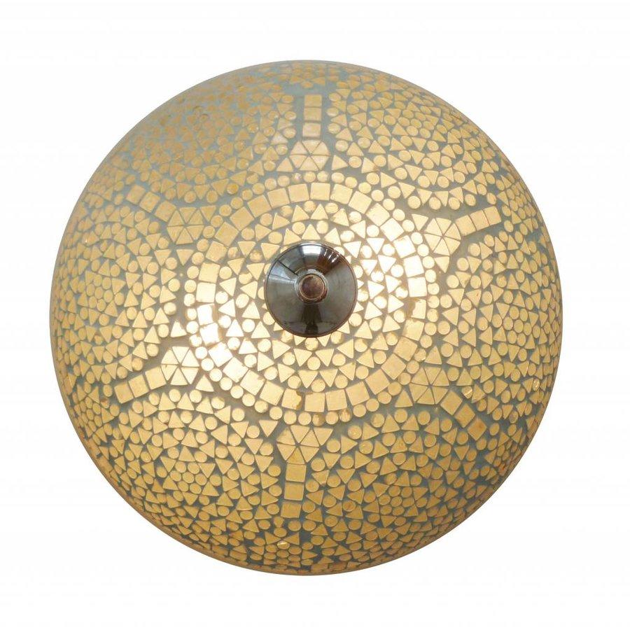 Plafonniere mozaïek transparant traditioneel design