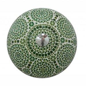 Plafonniere mozaïek groen traditioneel design