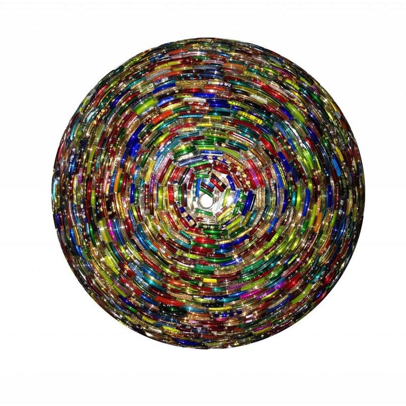 Oosterse plafonnière multi color kraal nieuw design -