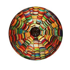Plafonnière multi colour bangle een zeer kleurrijke lamp
