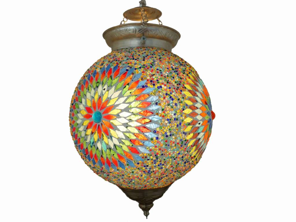 Oosterse hanglamp mozaïek