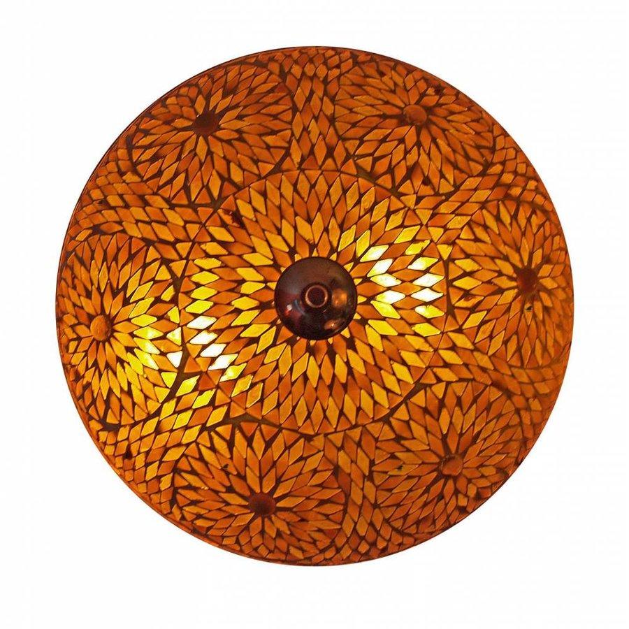plafonniere mozaïek bruin turkisch design
