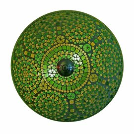 Plafonniere groen