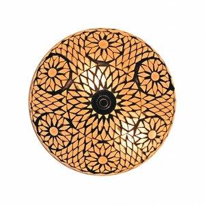Plafonnière van mozaïek transparant turkisch design