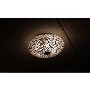 plafonniere glasmozaïek transparant turkisch design