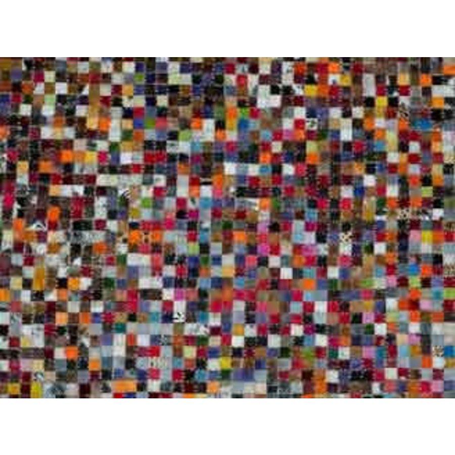 Vloerkleed blokken multi color 160x230cm